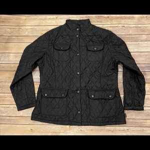 Barbour Utility Flyweight Quilt Jacket Size US 14